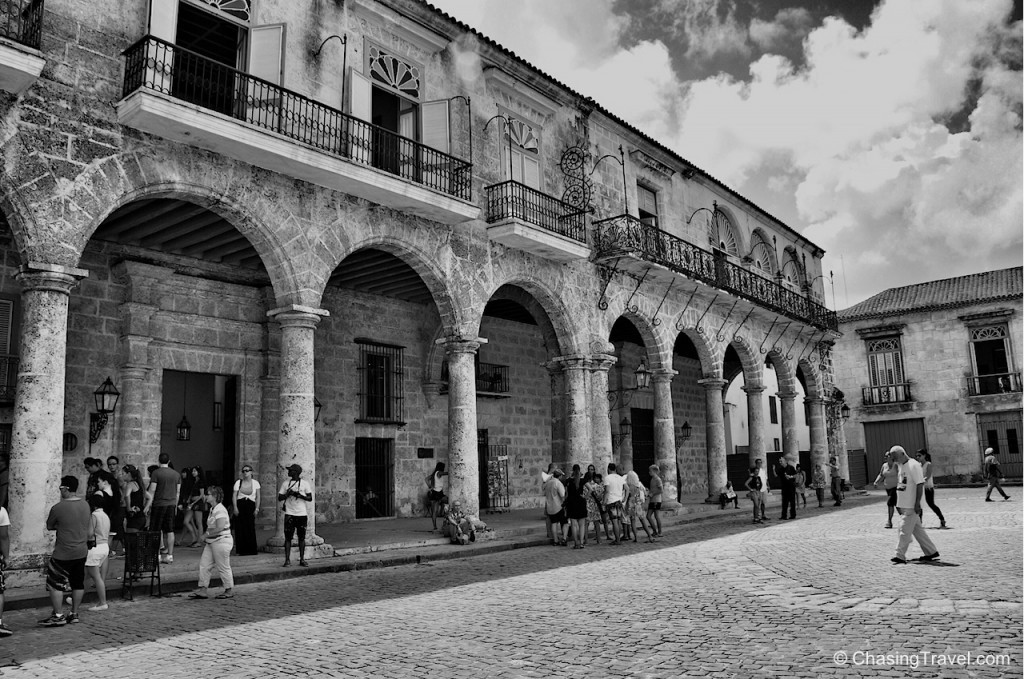 Old Havana Cathedral square