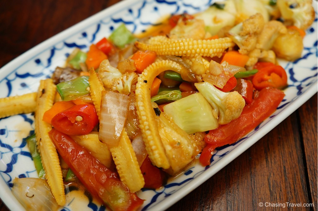 Thai Sweet Sour Veggie Stir Fry
