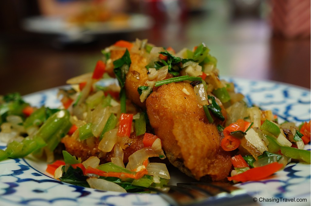 fried thai fish