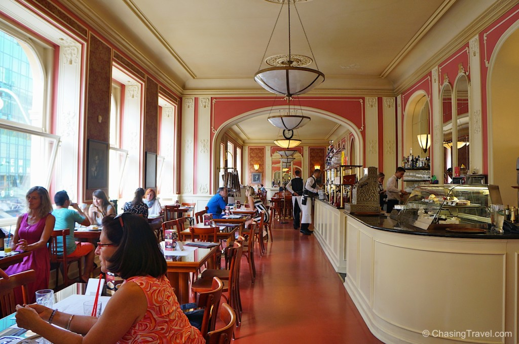 Cafe Louvre Prague