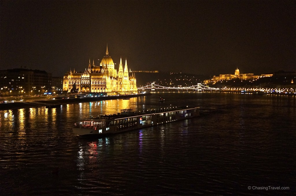 Budapest Parliament overlooking the Danube