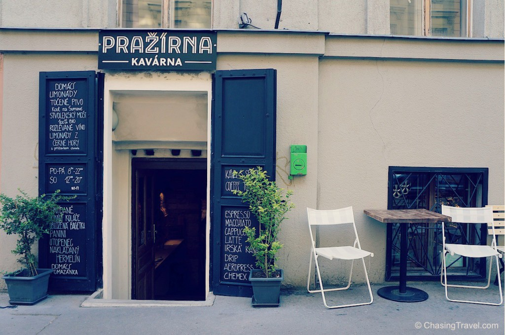 Prazirna cafe prague