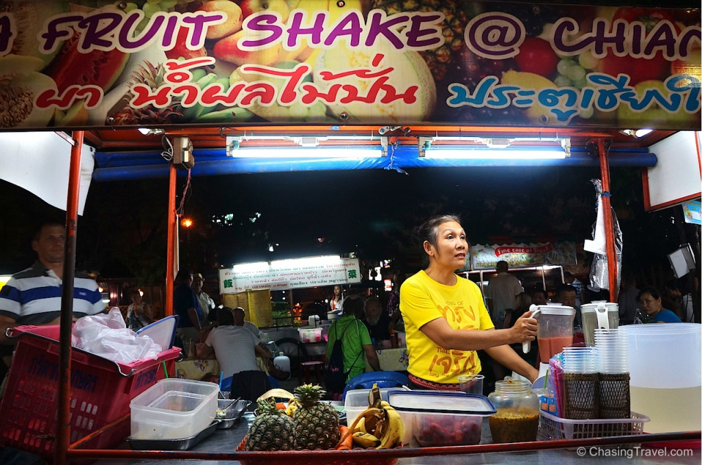Mrs. Pa smoothies Chiang Mai