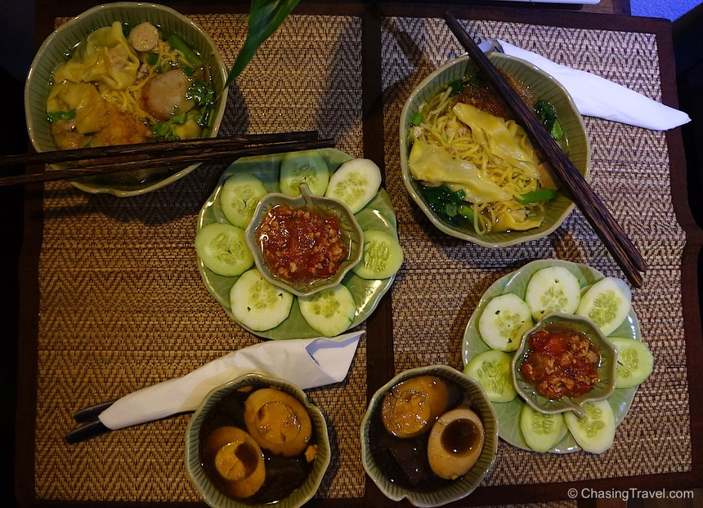 Traditional Thai breakfast