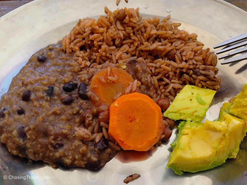 haitian Rice and beans
