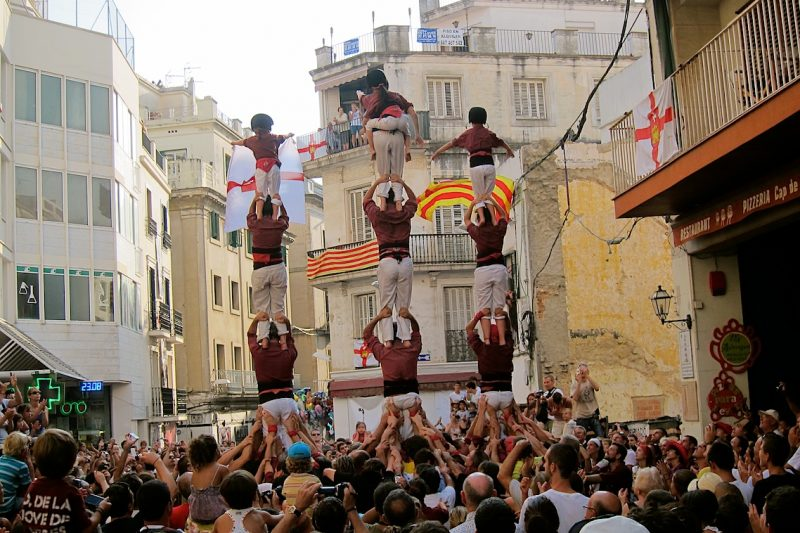 Human Towers in Spain