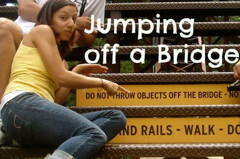 Overcoming Fear and Why I Jumped Off A Bridge