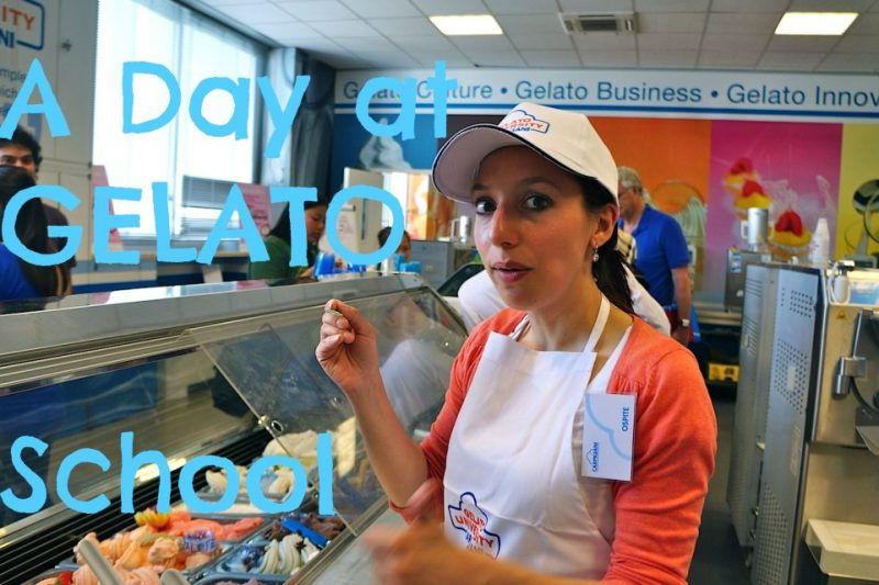 Spending a Day at Gelato University