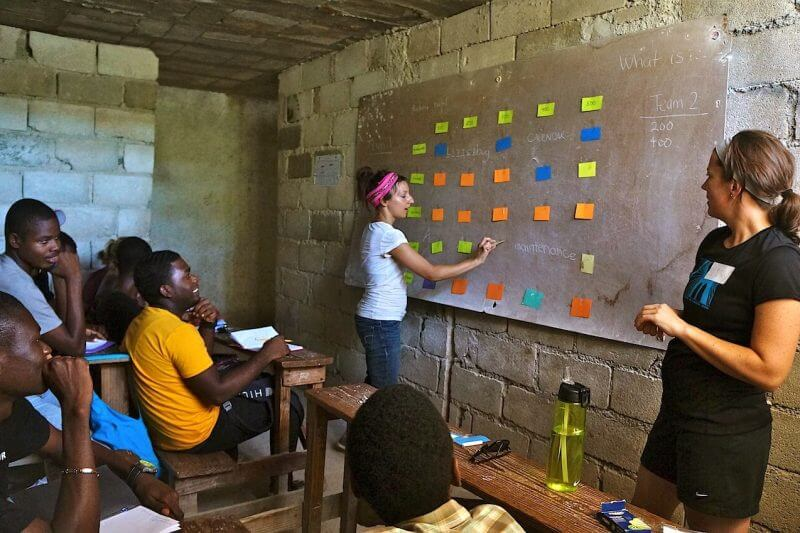 Teaching English in Haiti