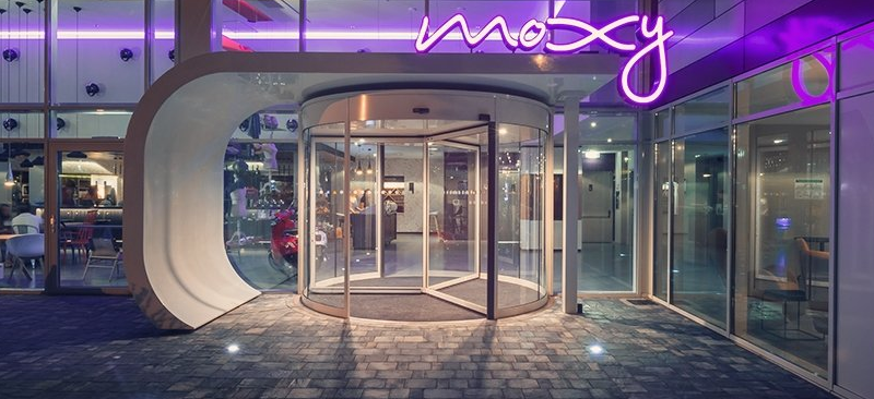 Chic and Hip Moxy Hotel in Milan