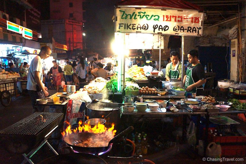 Eating Thai Street Food