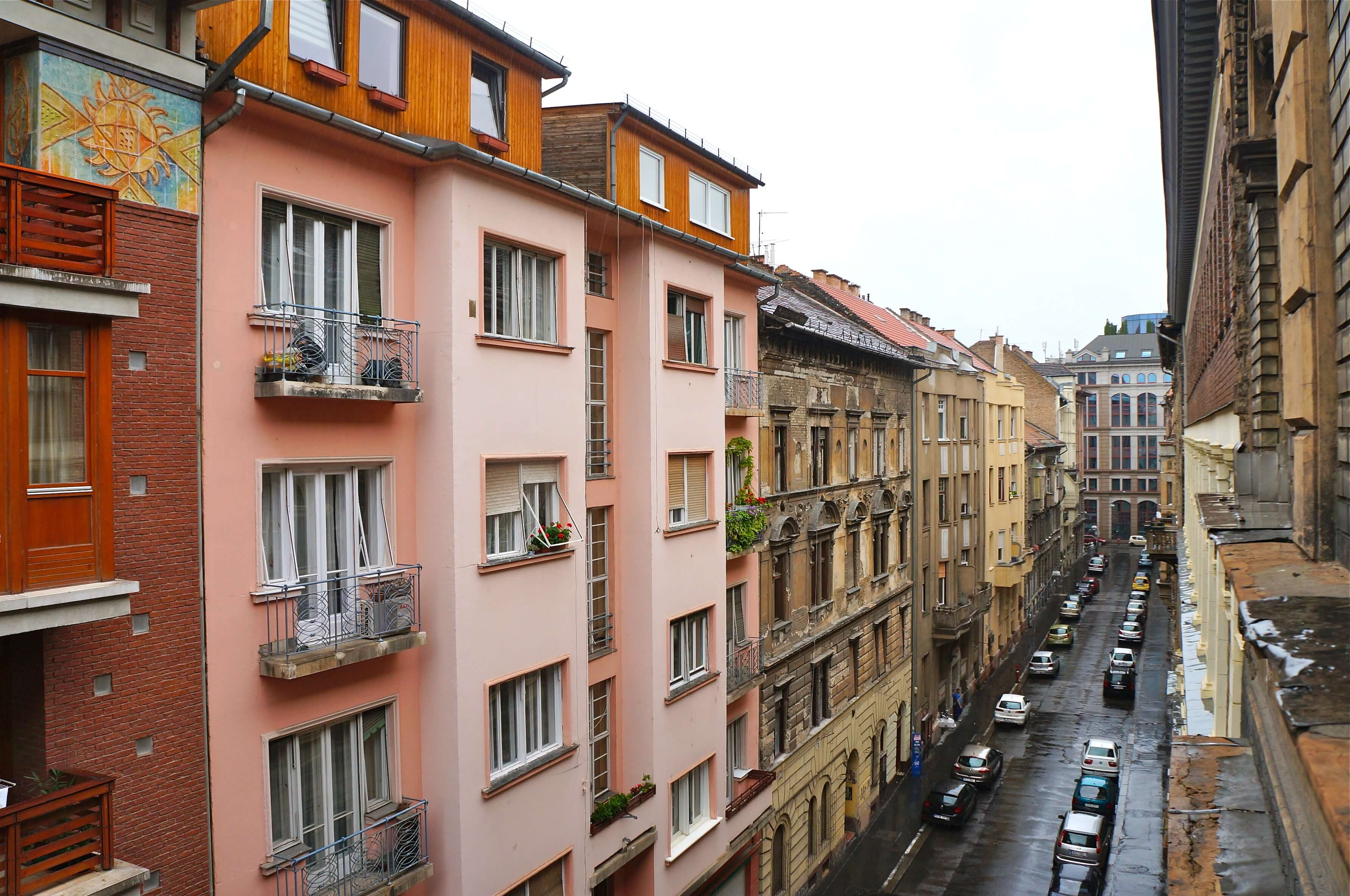 Budapest street view