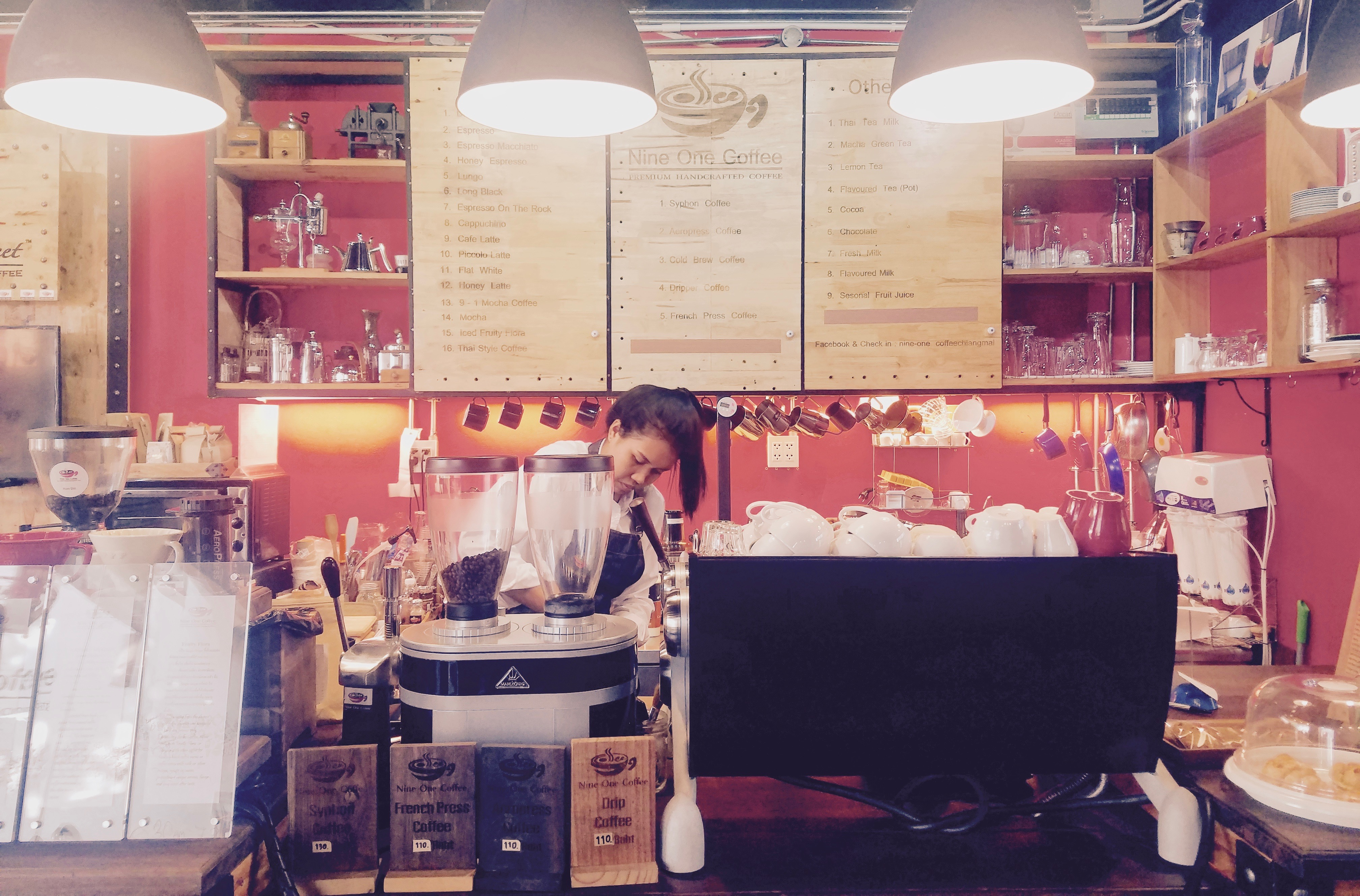 Nine One Coffee Barista